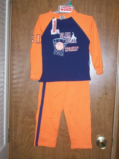 NWT Fisher Price 2 Pc. Boys Outfit 3T