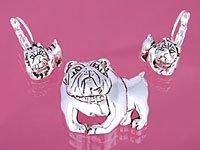 Bulldog Pendant Set