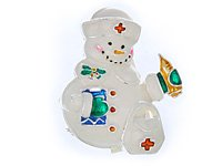 Nurse Snowlady Pendant or Pin