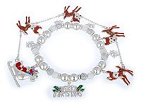 Rudolph the Red Nose Reindeer Bracelet