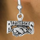 University of Arkansas Razorback Earrings