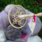 Winter Wonderland TOP WHORL DROP SPINDLE