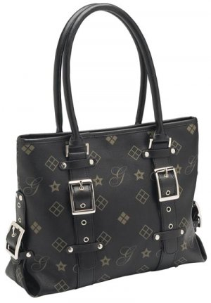 Giovanni Navarre Ladies Black Handbag.
