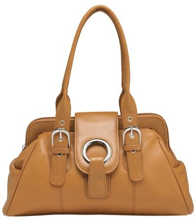 Embassy Genuine Leather Light Brown Purse.
