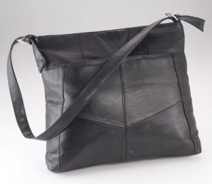 Maxam Brand Extra Large Solid Leather Purse.