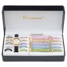 Navarre™ Ladies' Watch with interchangable bands and faces.