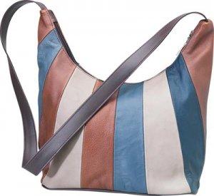 Embassy Genuine Solid Leather Shoulder Bag.