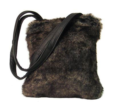 Embassy Faux Rabbit Purse.