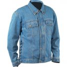 Diamond Plate HeavyWeight Denim Motorcycle Jacket