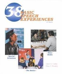 38 Basic Speech Experiences