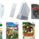 Nintendo Wii Top Sellers Bundle - With 17 Top Selling Games And 4 Controllers!!FREE SHIPPING!!