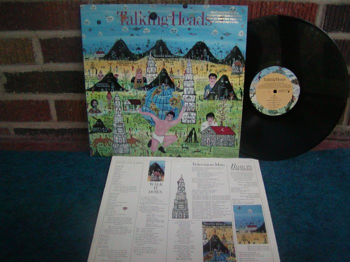 Talking Heads-Little Creatures-Original US LP VG++