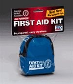 16pC MINI BACK PACK ON A KEYCHAINE FIRST AID KIT