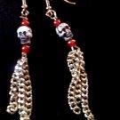 Skull Earrings.