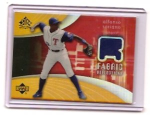 2004 UD REFLECTIONS ALFONSO SORIANO JERSEY