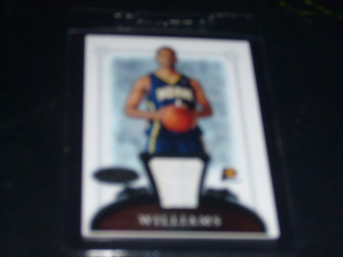 2006-2007 Bowman Sterling Shawne Williams ROOKIE JERSEY
