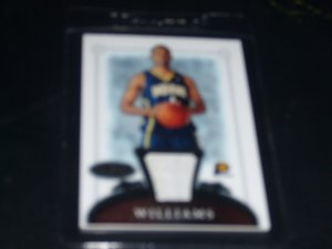 2006-2007 Bowman Sterling Shawne Williams ROOKIE JERSEY