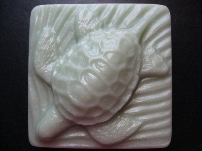 (Tangerine and Sweet Basil) Sea Turtle Goats Milk Glycerin Soap