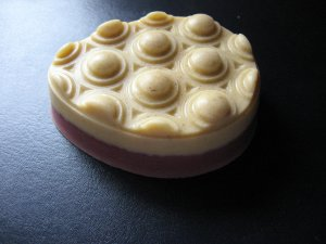 (Organic Jasmine Linden Blossom)(Organic Jasmine Organic Calendula) Message Egg Shaped Glycerin Soap