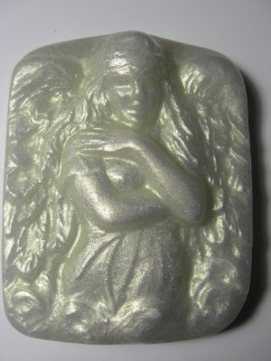 White Angel 1 Euphoria Aloe and Olive Oil Glycerin Soap