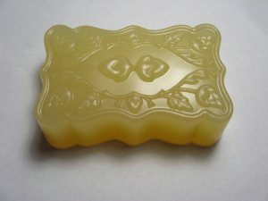 100% Certified Organic Jasmine Auriculatum Absolute Organic Palm and Coconut Oil Glycerin Acorn Soap