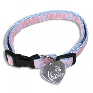 Cubs Pink Collar (Med/Large)