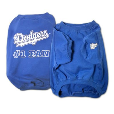 Dodgers #1 Fan T-Shirt (X-Large)