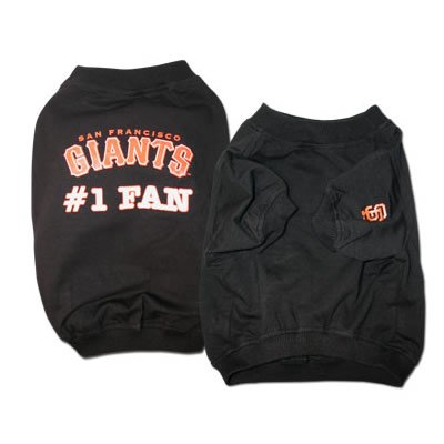 Giants #1 Fan T-Shirt (Large)