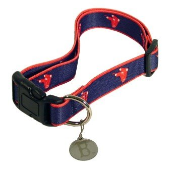 New Red Sox Collars - New Design (Med/Lg)