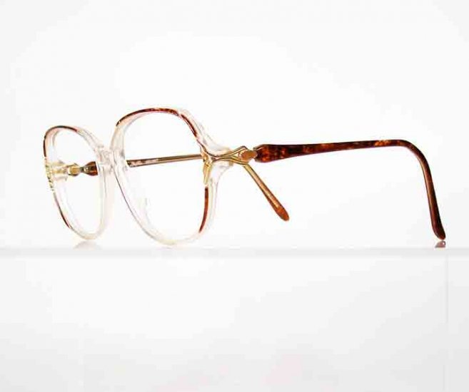 JOAN COLLINS Secret Tortoise Eyeglass Frames