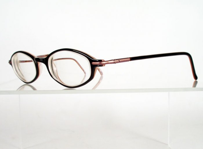 DAKOTA D55 Black and Pink Eyeglass Frames