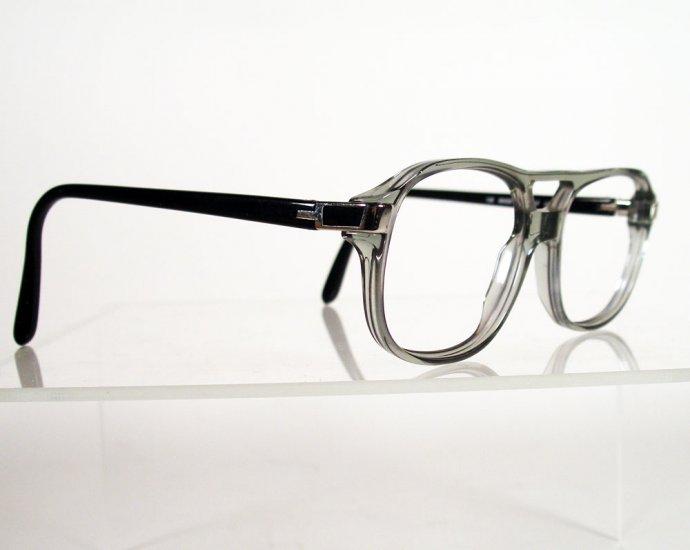 SFEROFLEX 1034 Gray with Black Drivers-Style Eyeglass Frames