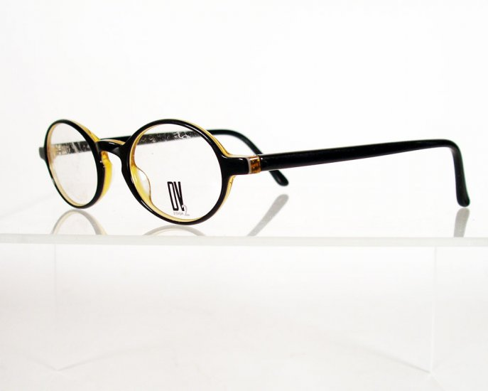 DEJA VU 896 Honey Black Eyeglass Frames