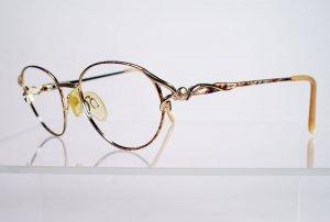 CATHERINE DENEUVE 039 Gold and Tortoise Eyeglass Frames