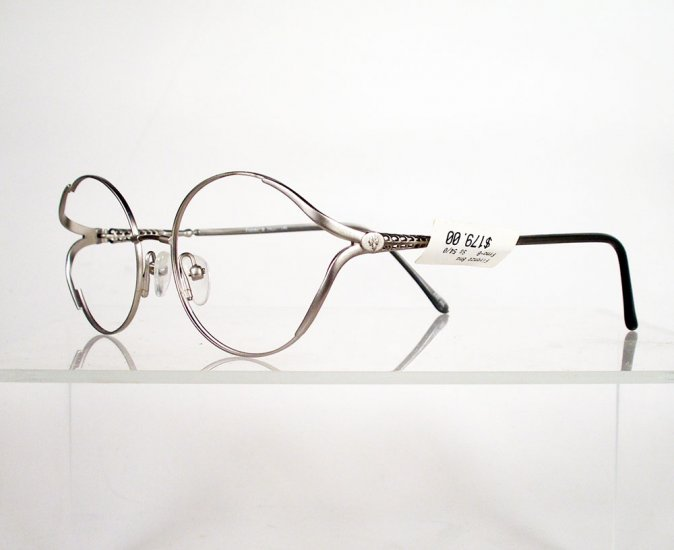 Bendable Rubber Eyeglass Frames : FIRENZE Fiorino-B Bendable Titanium Silver Eyeglass Frames