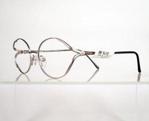 FIRENZE Fiorino-B Bendable Titanium Silver Eyeglass Frames