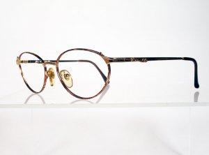GENNY 568 Gold and Tortoise Eyeglass Frames