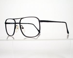 ARTCRAFT Black Metal Driver's Style Eyeglass Frames