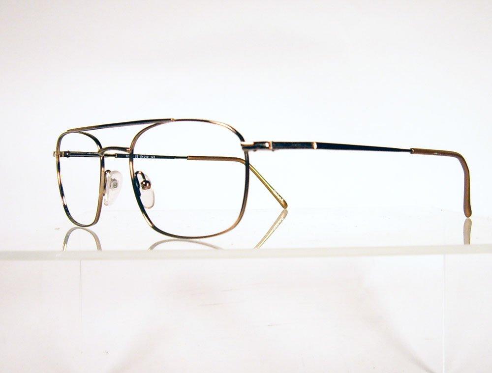 COTTET Tech 22 Brown Metal Drivers Style Eyeglass Frames