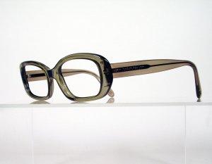 LAUREN HUTTON LS81PL Olive Rectangular Eyeglass Frames