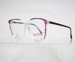 ASHLEY STEWART Purple and Gold Eyeglass Frames