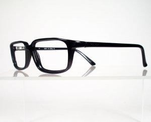 POLICE 1321U Black Eyeglass Frames