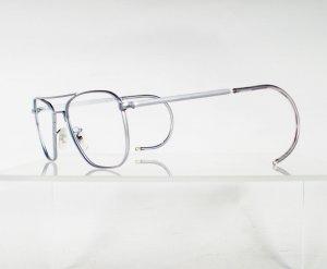 AMERICAN OPTICAL Chrome Aviator Eyeglass Frames