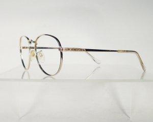 RANDOLPH ENGINEERING 251 Shiny Gold Eyeglass Frames
