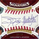 2006 Sweet Spot Joe Nathan/Huston Street Autograph 13/35
