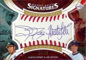 2006 Sweet Spot Joe Nathan/Huston Street Autograph 13/35