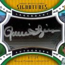 2006 Sweet Spot Rollie Fingers autograph barrel 07/34