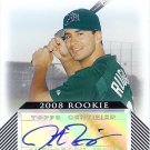 2008 Moments and Milestones Justin Ruggiano autograph