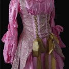 Pink Renaissance Dress Costume M