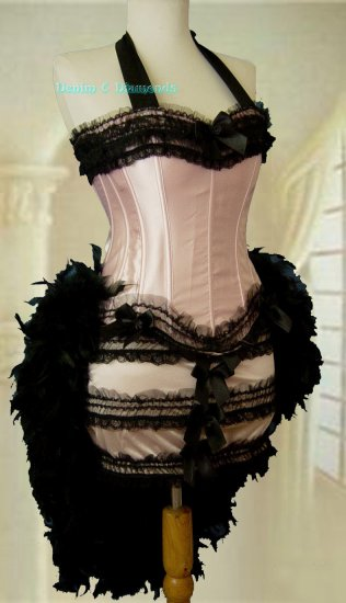 Moulin Rouge Burlesque Costume S